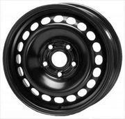 Новые шины и диски разного диаметра.